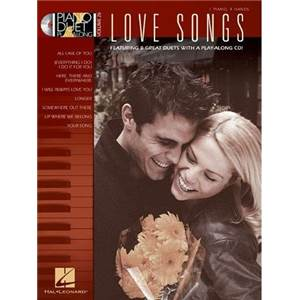 COMPILATION - PIANO DUETS PLAY ALONG VOL.26 LOVE SONGS + CD