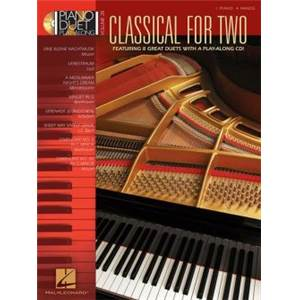 COMPILATION - PIANO DUET PLAY ALONG VOL.28 CLASSICAL FOR TWO + CD