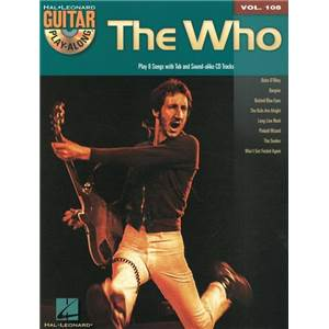 WHO THE - GUITAR PLAY ALONG VOL.108 + CD