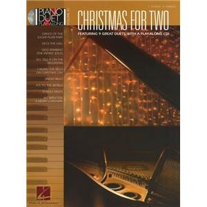 COMPILATION - PIANO DUET PLAY ALONG VOL.37 CHRISTMAS FOR 2 + CD