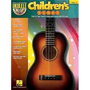COMPILATION - UKULELE PLAY ALONG VOL.4 CHILDREN'S SONGS + CD