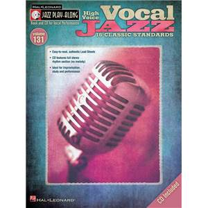 COMPILATION - JAZZ PLAY ALONG VOL.131 VOCAL JAZZ (HIGH VOICES) + CD