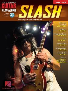 SLASH - GUITAR PLAY-ALONG VOL.143 SLASH + ONLINE AUDIO ACCESS