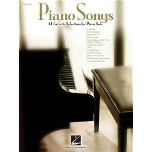 COMPILATION - PIANO SONG: 41 FAVORITE SELECTIONS FOR PIANO SOLO