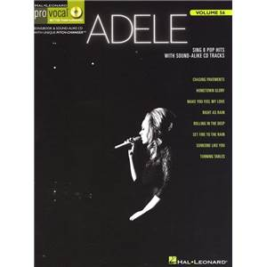 ADELE - PRO VOCAL FOR WOMEN SINGERS VOL.56 + CD