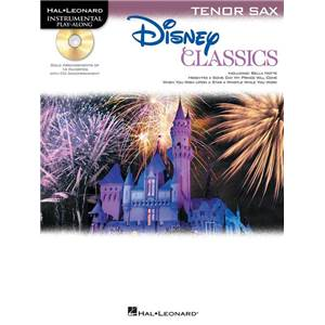 DISNEY - CLASSICS TENOR SAXOPHONE (SAXOPHONE TENOR) PLAY ALONG + CD