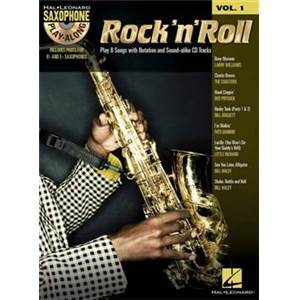 COMPILATION - SAXOPHONE PLAY ALONG VOL.1 ROCK 'N' ROLL + CD