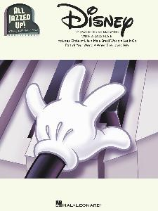 DISNEY - ALL JAZZED UP PIANO SOLOS INTERMEDIATE