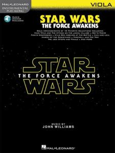 COMPILATION - INSTRUMENTAL PLAY-ALONG: STAR WARS THE FORCE AWAKENS VIOLA  + ONLINE AUDIO ACCES