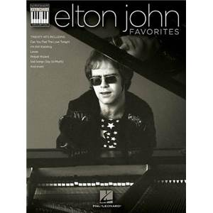 JOHN ELTON - FAVORITES NOTE FOR NOTE KEYBOARD TRANSCRIPTIONS
