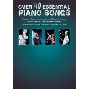 COMPILATION - OVER 40 ESSENTIAL PIANO SONGS