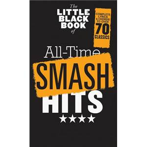 COMPILATION - LITTLE BLACK SONGBOOK (POCHE) ALL TIME SMASH HITS SONGS 70 SONGS