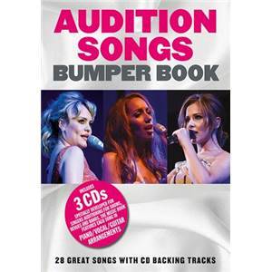 COMPILATION - AUDITION SONGS: BUMPER SONGBOOK + 3 CD
