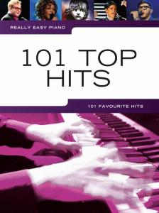 COMPILATION - REALLY EASY PIANO 101 TOP HITS