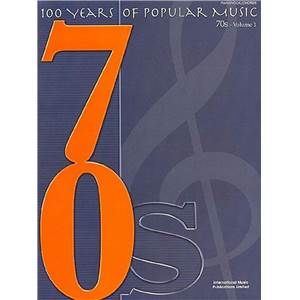 COMPILATION - 100 YEARS OF POPULAR MUSIC 70S VOL.1 P/V/G