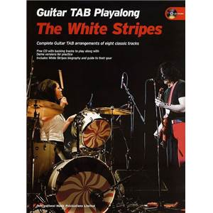 THE WHITE STRIPES - GUITAR PLAY ALONG TAB. + CD