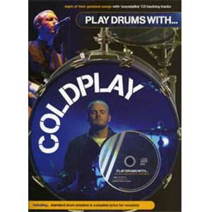 COLDPLAY - PLAY DRUMS WITH + CD
