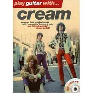 CREAM - PLAY GUITAR WITH... + CD