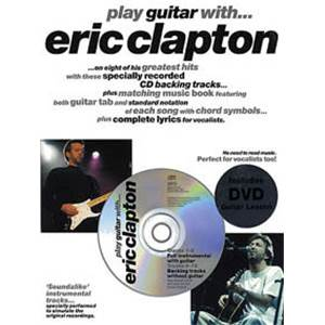 CLAPTON ERIC - PLAY GUITAR WITH... + DVD + CD