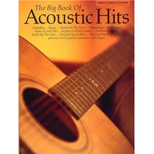 COMPILATION - BIG VOL.OF ACOUSTIC HITS P/V/G