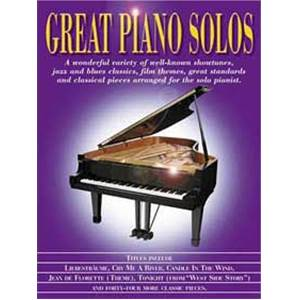 COMPILATION - GREAT PIANO SOLOS PURPLE REVISED