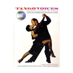 COMPILATION - TANGO VOICES SONGS + CD