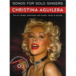 AGUILERA CHRISTINA - SONGS FOR SOLO SINGERS + CD