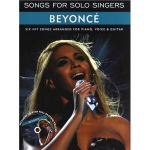 BEYONCE - SONGS FOR SOLO SINGERS + CD
