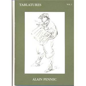 PENNEC ALAIN - TABLATURES ACCORDEON DIATONIQUE VOL.2 + CD