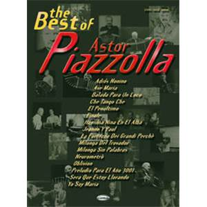 PIAZZOLLA ASTOR - BEST OF P/V/G
