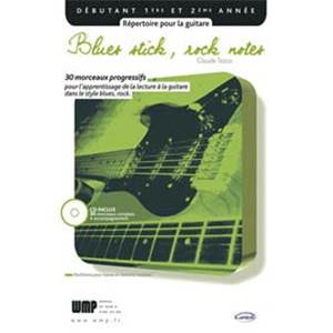 TEZZA CLAUDE - BLUES STICK ROCK NOTES + CD