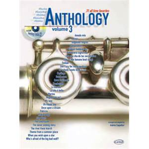 COMPILATION - ANTHOLOGY FLUTE VOL.3 31 ALL TIME FAVORITES + CD