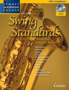 COMPILATION - SWING STANDARDS FOR ALTO SAXOPHONE (MIB) +CD
