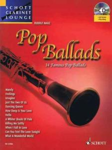 COMPILATION - POP BALLADS FOR CLARINET (SIB) +CD
