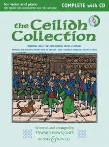 HUWS JONES EDWARD - CEILIDH COLLECTION (CELTIQUE COLLECTION) +CD NOUVELLE EDITION - VIOLON ET PIANO
