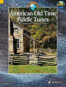 AMERICAN OLD TIME FIDDLE TUNES +CD (98 TRADITIONNELS AMERICAINS) - VIOLON