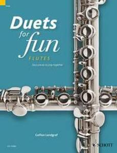 COMPILATION - DUETS FOR FUN : FLUTES - 2 FLUTES