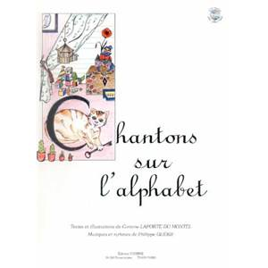 LAPORTE M/GUERIF - CHANTONS SUR L'ALPHABET AVEC PLAY-BACK + CD - FORMATION MUSICALE