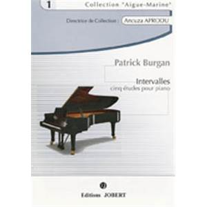 BURGAN PATRICK - INTERVALLES - PIANO
