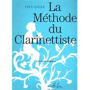 DIDIER YVES - METHODE DE CLARINETTE