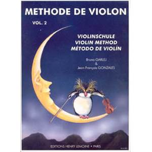 GARLEJ B/GONZALES JF - METHODE DE VIOLON VOL.2