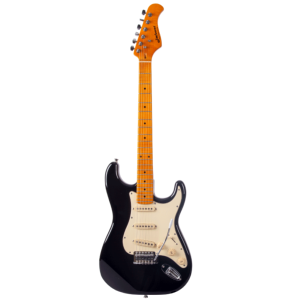 GUITARE ELECTRIQUE SOLID BODY PRODIPE ST80 MA BLACK