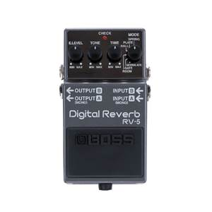 PEDALE D'EFFETS BOSS RV 5 DIGITAL REVERB