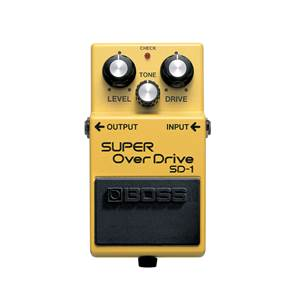 PEDALE D'EFFETS BOSS SUPER OVERDRIVE SD1