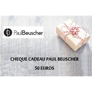 cheque cadeau paul beuscher 50 euros paul. Black Bedroom Furniture Sets. Home Design Ideas