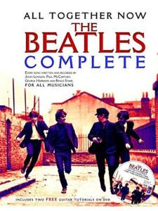 BEATLES THE - ALL TOGETHER NOW THE COMPLETE LIGNE MELODIQUES ACC GUITARE PAROLES COMPL + 2DVD