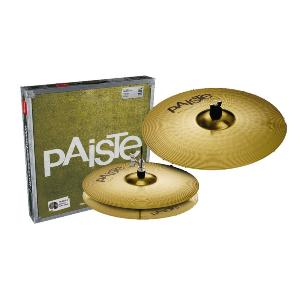 PACK CYMBALES PAISTE BRASS 101 ESSENTIAL 13''&18''