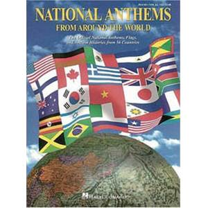 COMPILATION - NATIONAL ANTHEMS (56 HYMNES NATIONAUX) P/V/G