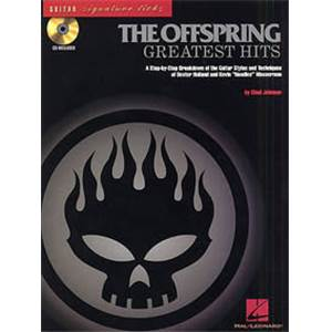 OFFSPRING THE - GREATEST HITS SIGNATURE LICKS GUITAR TAB. + CD