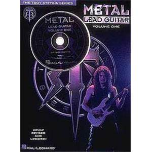 STETINA TROY - METAL LEAD GUITAR TAB. VOL.1 + CD